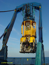 ROV being deployed on Nordica